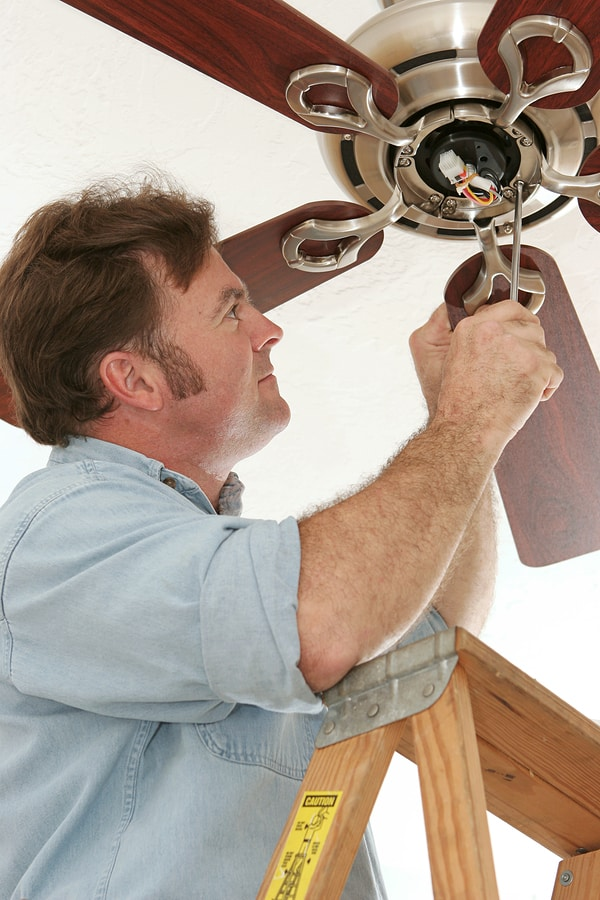 Simple diy steps to repair a ceiling fan mozeypictures Image collections