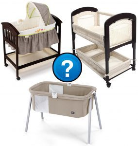 Bassinet vs co-sleeper vs crib