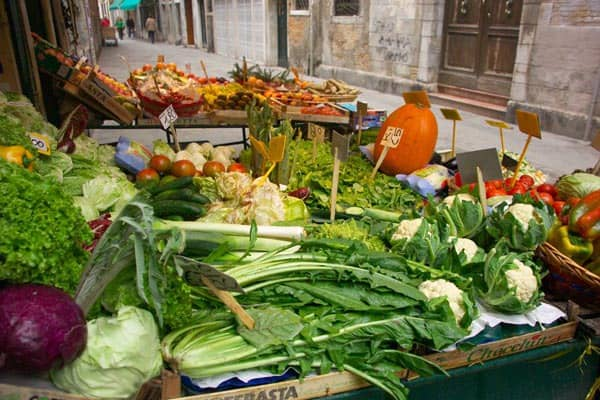 Vegetable Shop, Venice