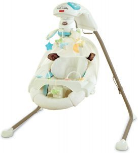 Fisher-Price My Little Lamb Cradle 'N Swing with AC Adapter
