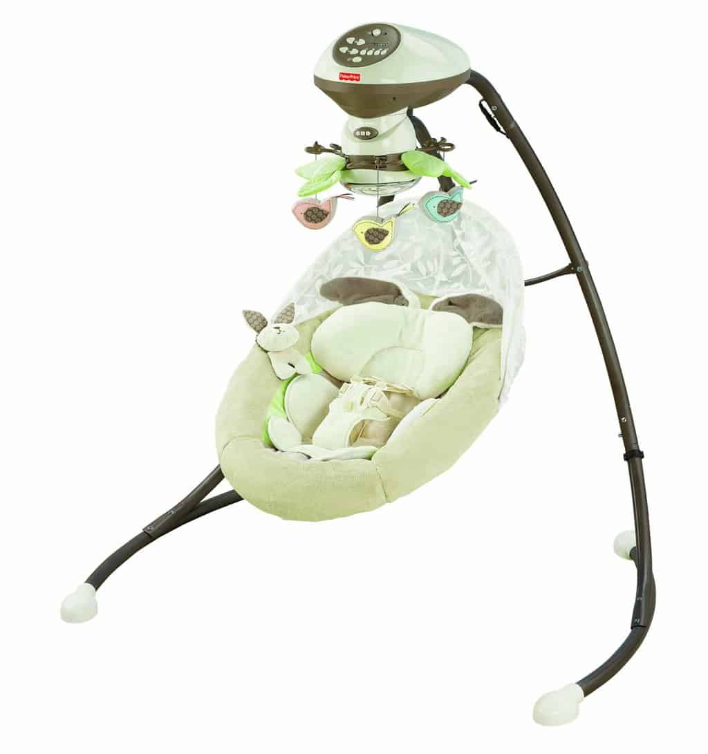 Snugabunny Cradle 'N Swing with Smart Technology