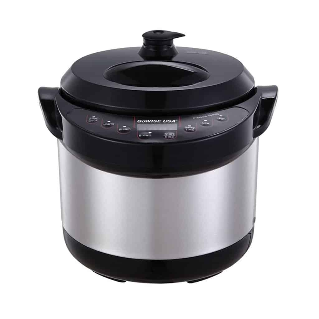 Gowise USA 6-in-1 Electric Stainless-Steel Pressure Cooker
