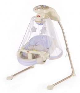 full-size baby swing