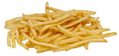 french fries from an air fryer