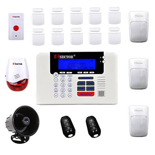 PiSector 4G GSM Wireless Security Alarm System