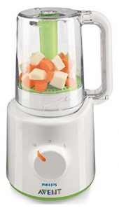 Philips Avent Scf87021 Combined Baby Food Steamer And Blender-min