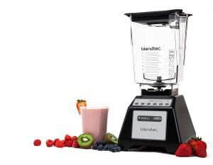 Blendtec TB-621-25 Total Blender Classic with WildSide+ Jar, Black (Certified Refurbished)-min