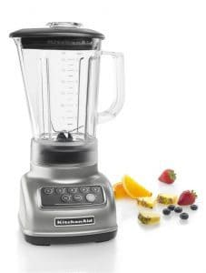 KitchenAid KSB1570SL 5-Speed Blender with 56-Ounce BPA-Free Pitcher - Silver-min
