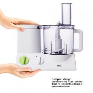 BRAUN FP3020 Food Processor With The Coarse Slicing Insert Blade Bundle