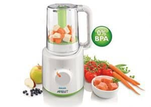 Philips AVENT SCF870 21 Combined Baby Food Steamer and Blender 220V Only-min