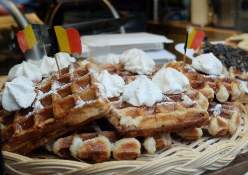 toppings for your belgian waffles